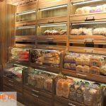 Dilek Market çekmeceli ekmek reyonu