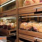 Ekmek reyonu çekmece detayı