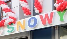 Snowy market dizaynı