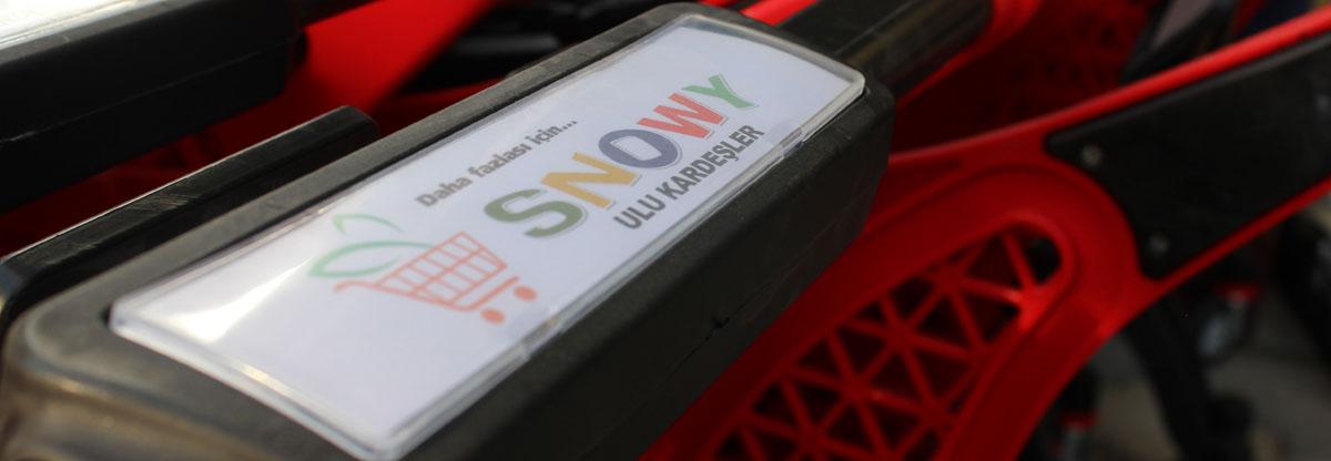 Snowy marklet binevler