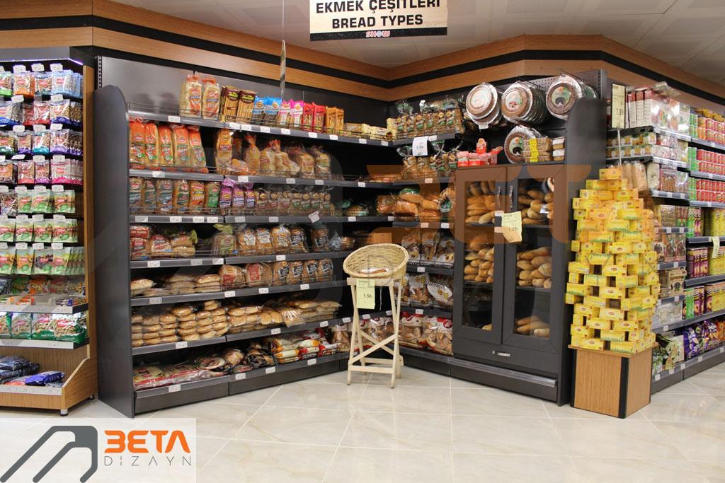 Show Market ekmek reyonu