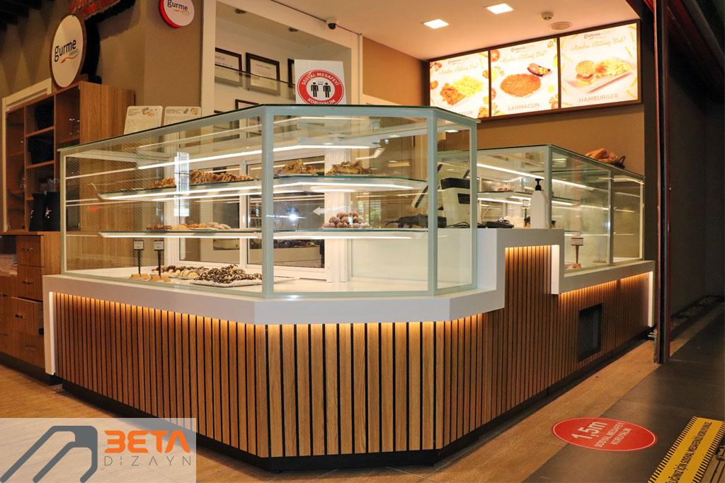 Gurme Glutensiz Restoran dizaynı