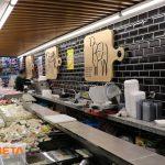 Market Dizaynında şarküteri reyonu