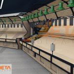 3D Manav reyonu tasarımı