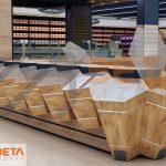 3D Market Dizaynı