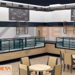 3D Kafe dekorasyonu